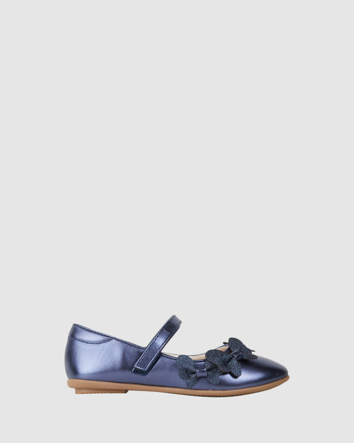 Shoes and Sox Cleo Navy