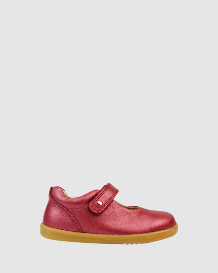 Shoes and Sox Iwalk Delight Ii Mary Jane Cherry Shimmer