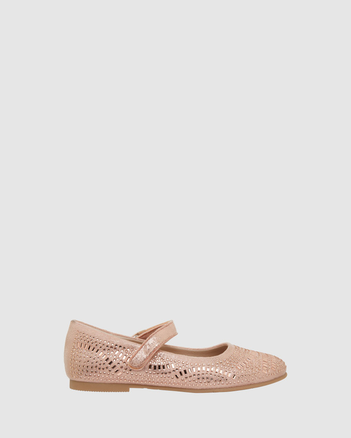 Shoes and Sox Aurora Rose Gold