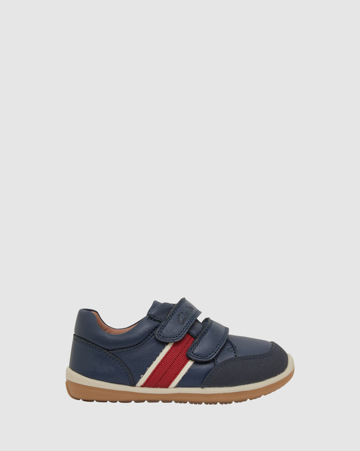 Shoes and Sox Micky Navy/Red