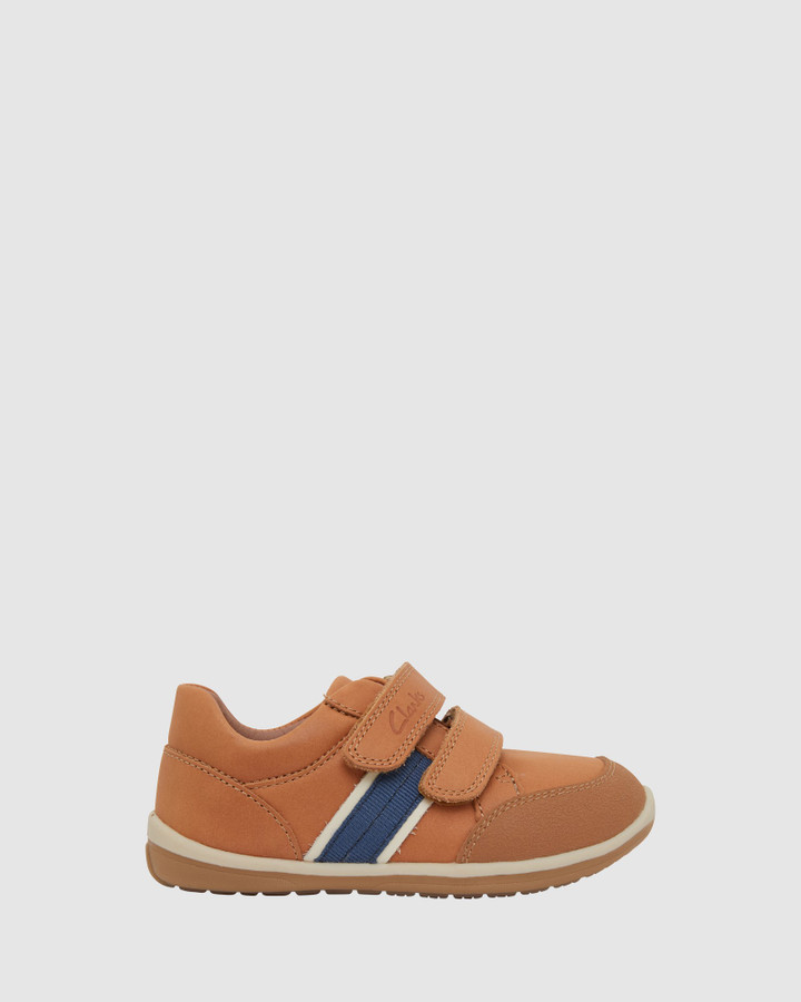 Shoes and Sox Micky Tan/Navy