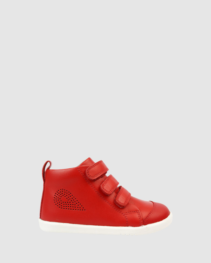 Shoes and Sox Iwalk Up Hi Court Red