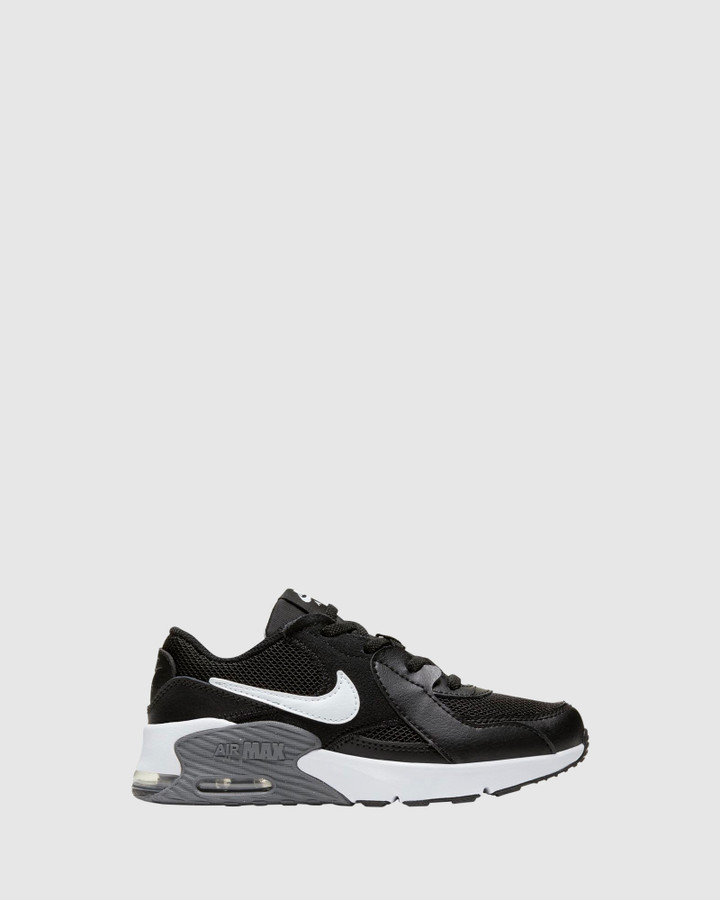 Shoes and Sox Air Max Excee Ps B Black/White/Grey