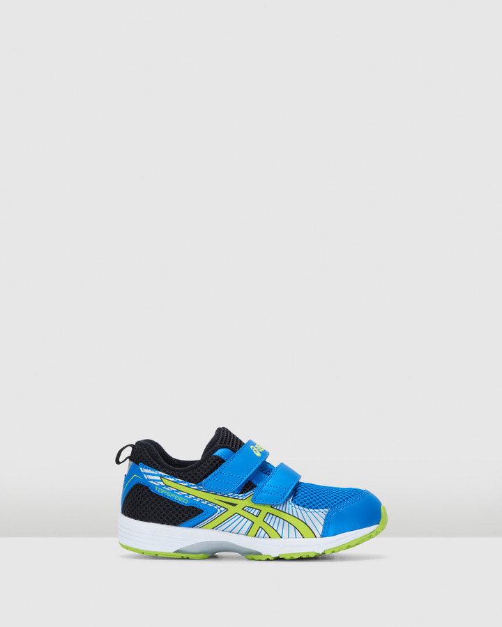 Shoes and Sox Topspeed Mini 4 Ps B Royal Blue/Lime