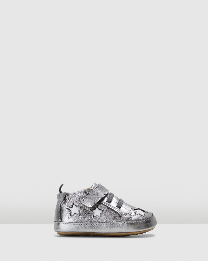Shoes and Sox High Splash G Rich Silver/White