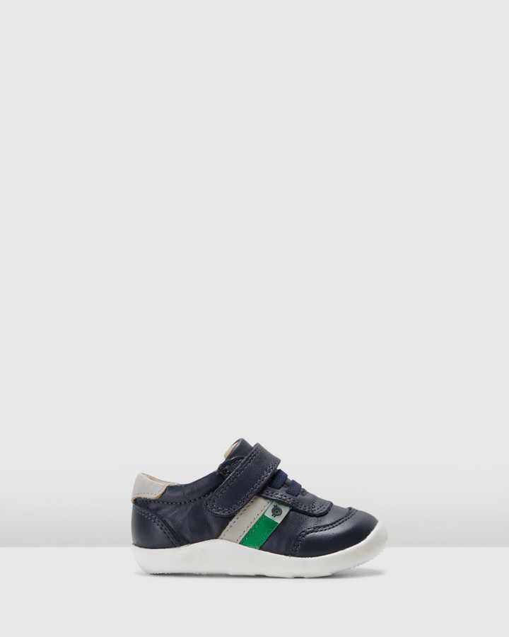 Shoes and Sox Play Ground B Navy/Gris/Green