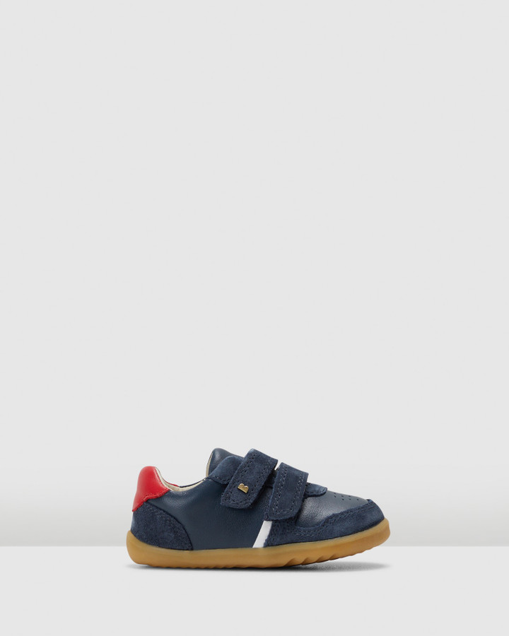 Shoes and Sox Step Up Riley B Navy/Red