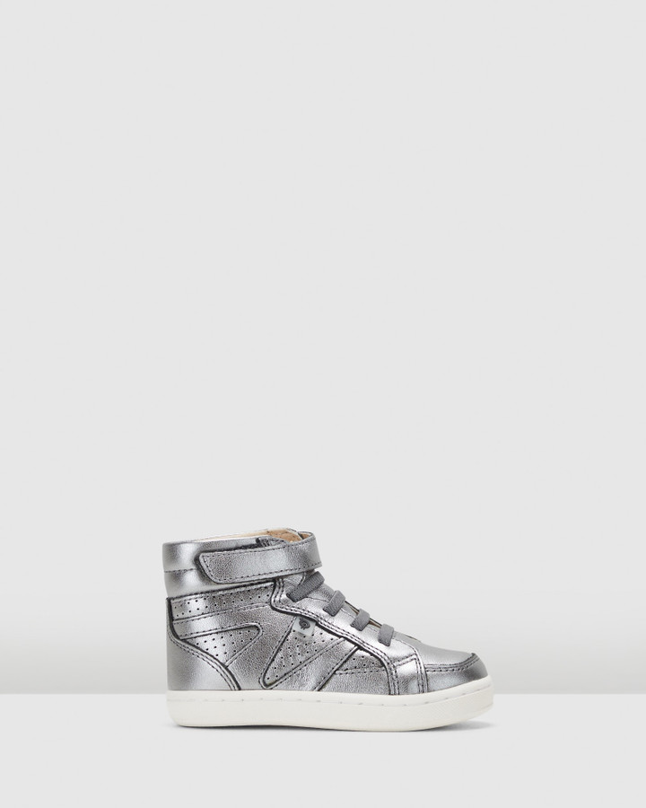 Shoes and Sox Urban Starter Shoe G Rich Silver
