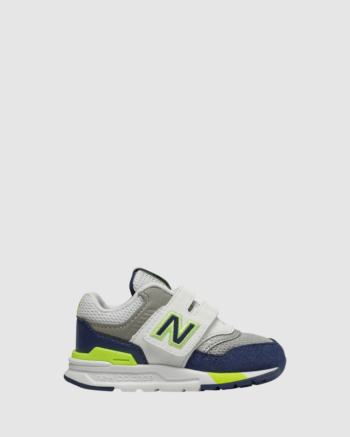 Shoes and Sox 997 Sf Inf B White/Navy/Grey