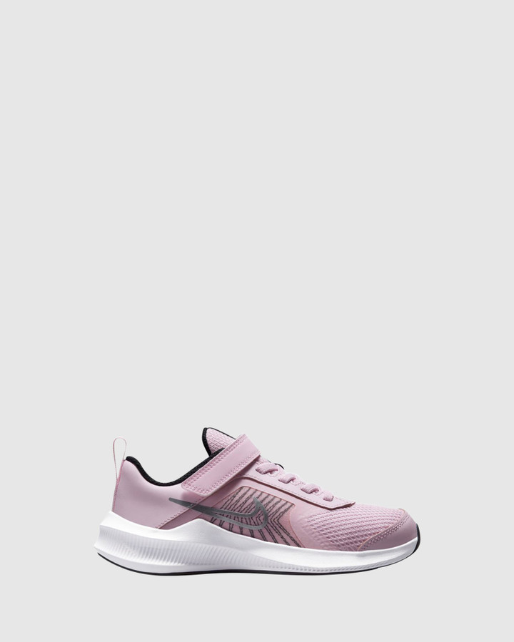 Shoes and Sox Downshifter 11 Ps G Pink Foam/Silver