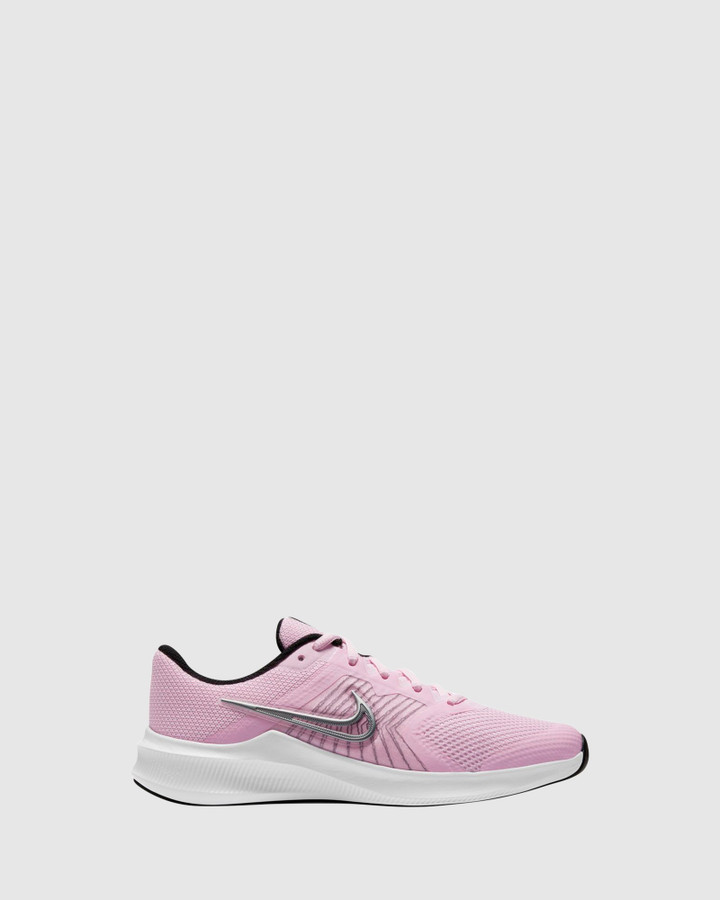 Shoes and Sox Downshifter 11 Gs G Pink Foam/Silver