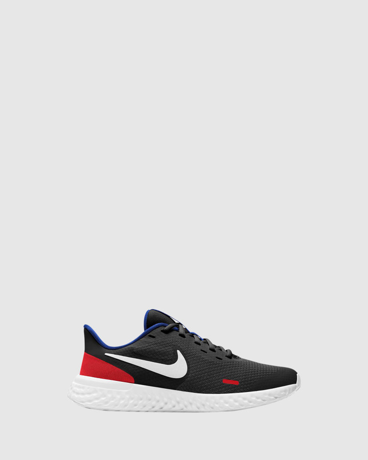 Shoes and Sox Revolution 5 Gs B Black/White/Red