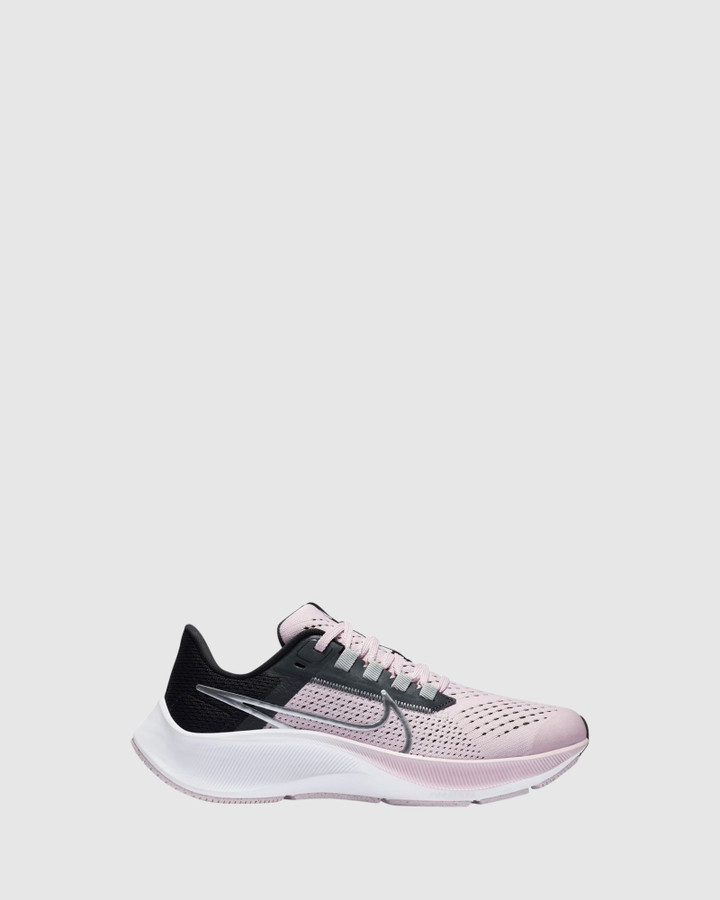 Shoes and Sox Air Zoom Pegasus 38 Gs G Pink Foam/Silver