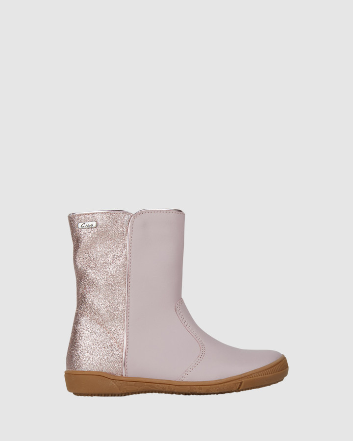 Shoes and Sox Gia Boot Rose