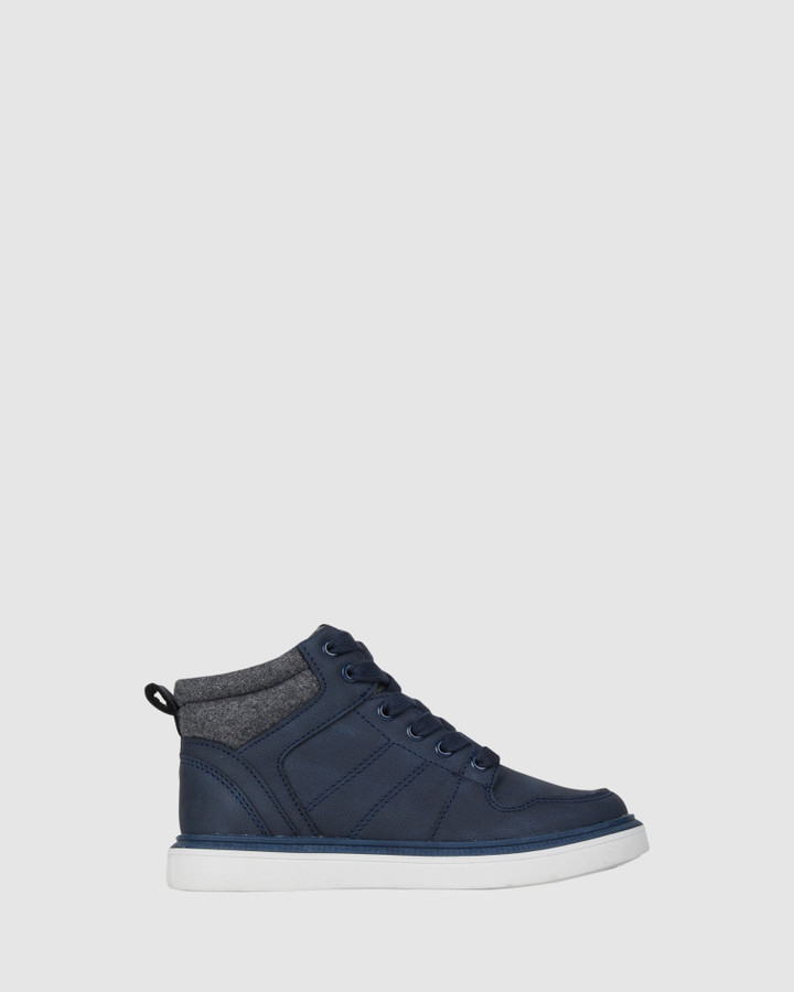 Shoes and Sox Emil Boot Navy