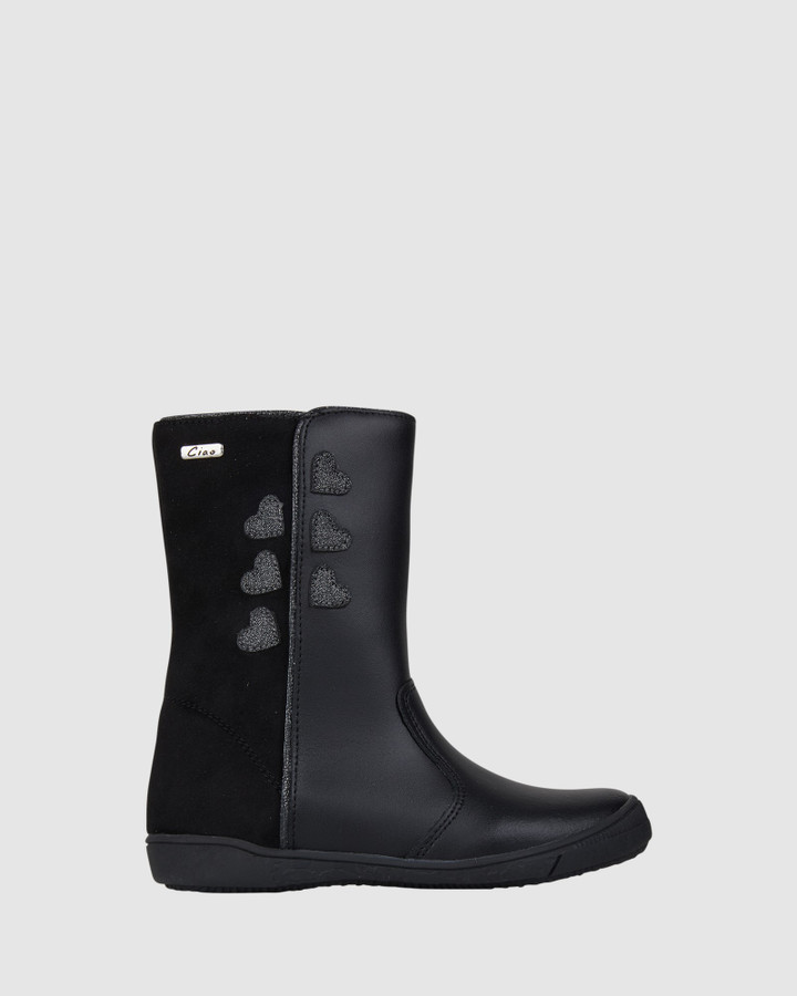 Shoes and Sox Gabriella Boot Black