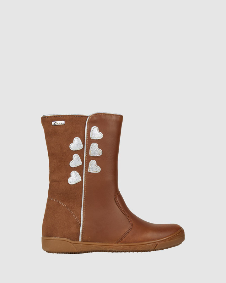 Shoes and Sox Gabriella Boot Tan
