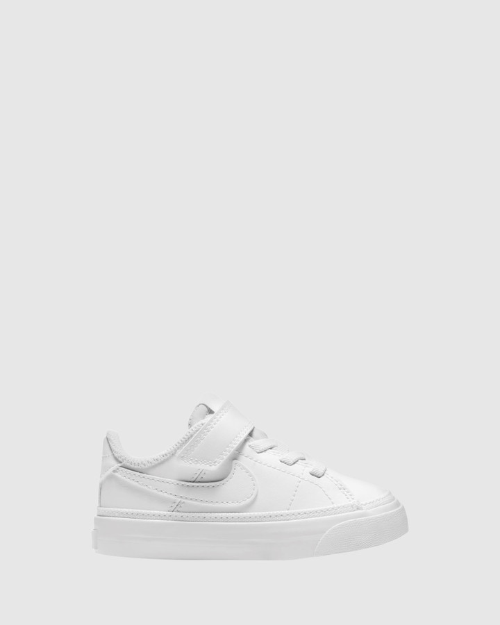 Shoes and Sox Court Legacy Inf B White/White