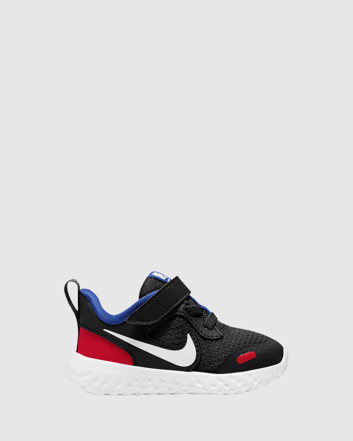 Shoes and Sox Revolution 5 Inf B Black/White/Red