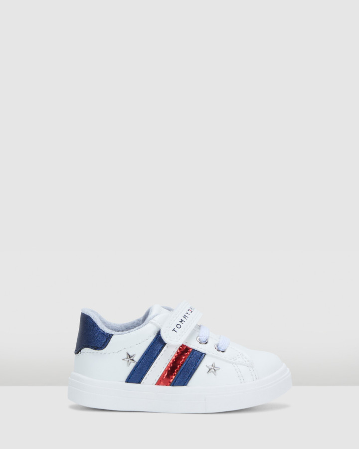 Shoes and Sox Th Sf Stars Stripe Sneaker Inf White/Navy