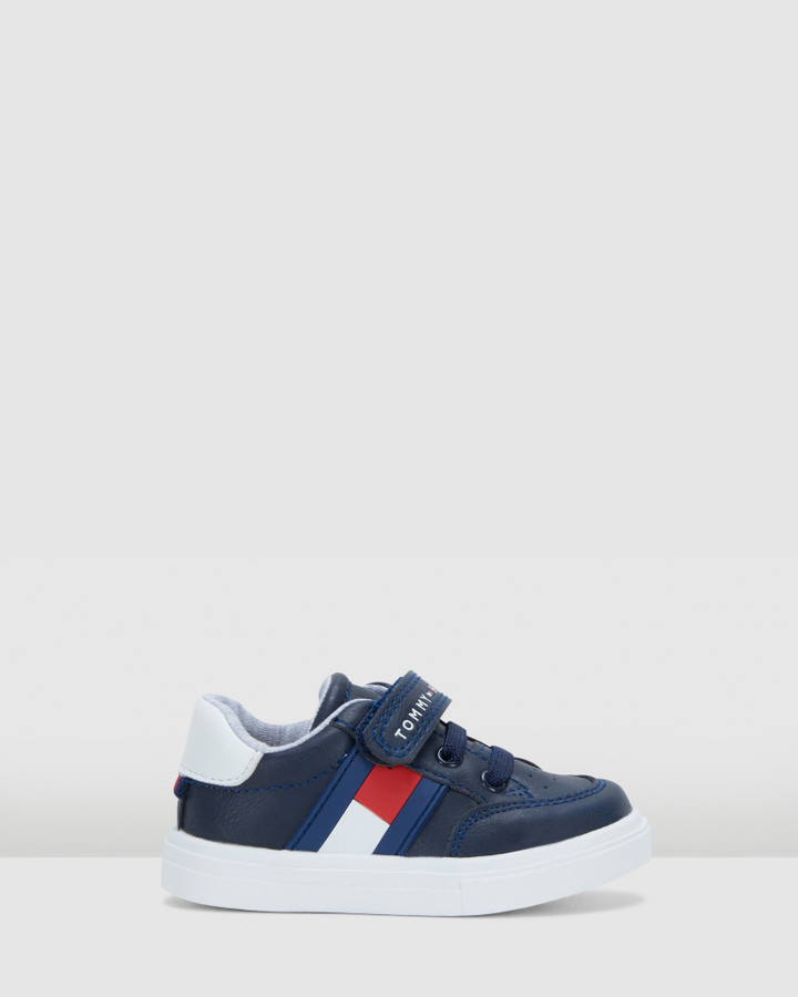 Shoes and Sox Th Sf Low Cut Flag Sneaker Inf Navy/White/Red
