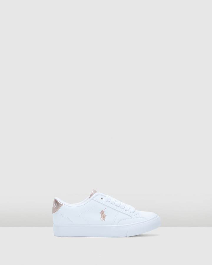 Shoes and Sox Theron Iv Yth G White/Rose