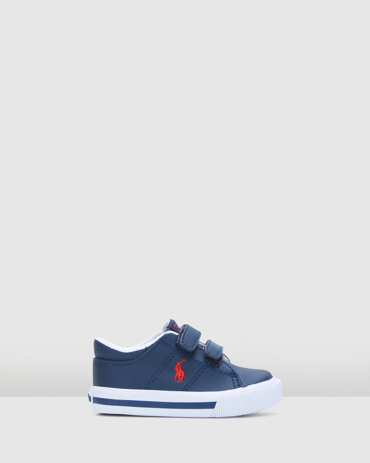 Shoes and Sox Elmwood Ez Tumbled Inf B Navy/Red