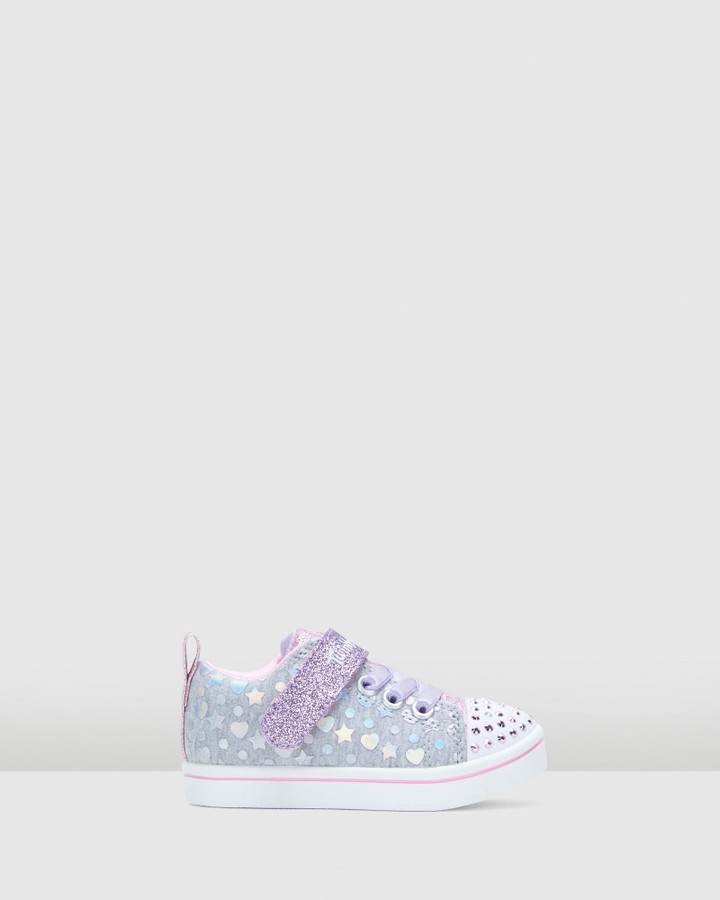 Shoes and Sox Tt Sparkle Rayz H&S Inf Grey Multi
