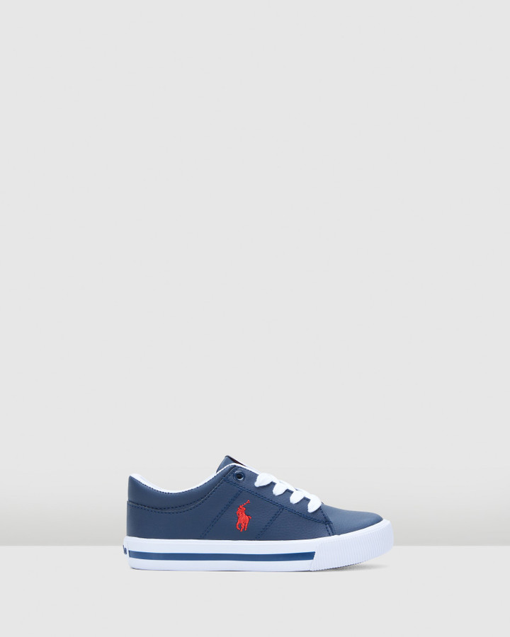 Shoes and Sox Elmwood Tumbled Yth B Navy/Red