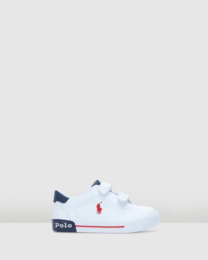 Shoes and Sox Graftyn Ez Inf B White/Navy/Red