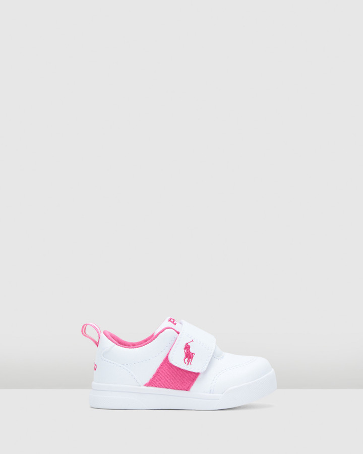 Shoes and Sox Kingstyn Inf G White/Pink