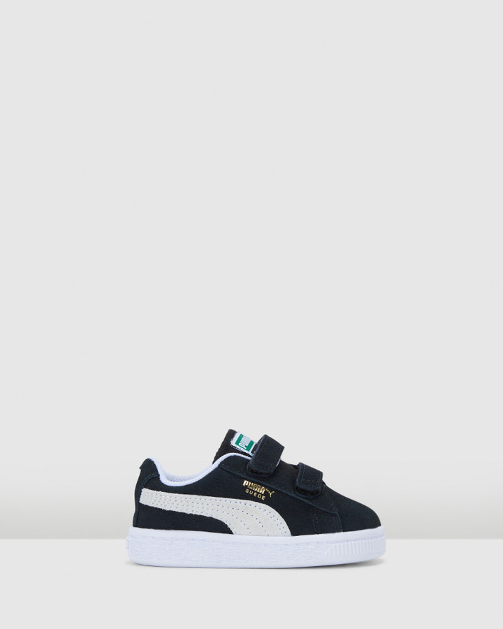 Shoes and Sox Suede Classic Xxi Sf Inf B Black/White
