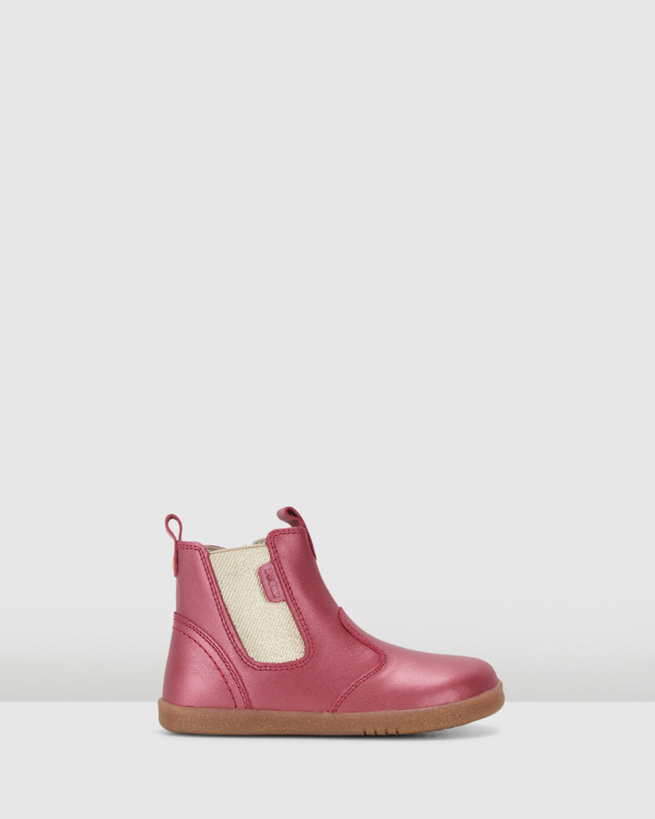 Shoes and Sox Kid+ Jodhpur Boot G Cherry Shimmer