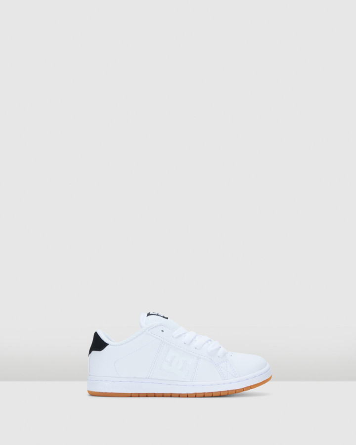 Shoes and Sox Striker White/Gum