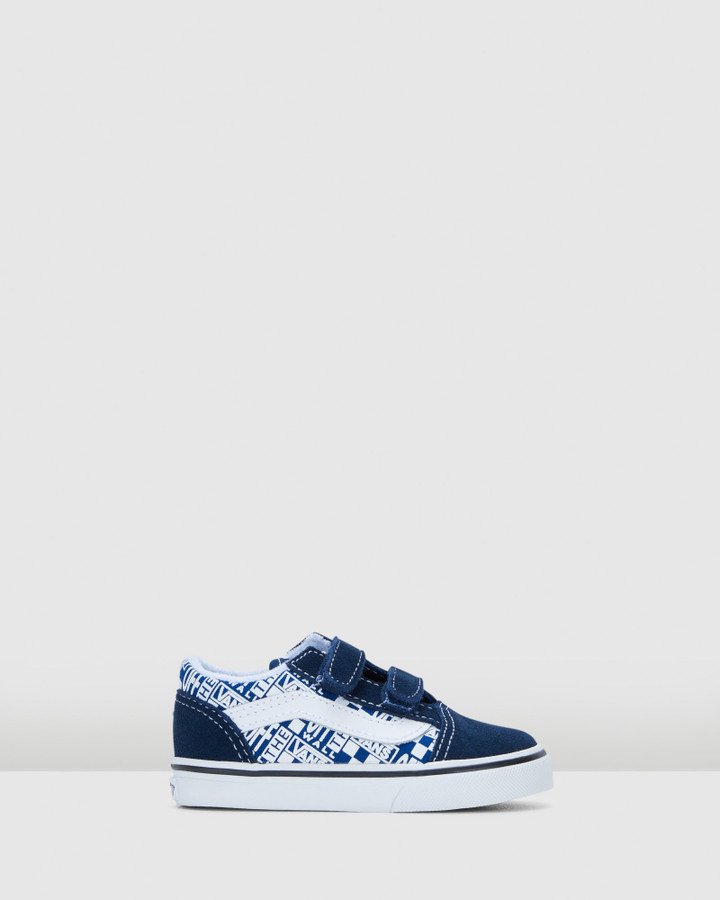 Shoes and Sox Old Skool V Inf B Dress Blue/White