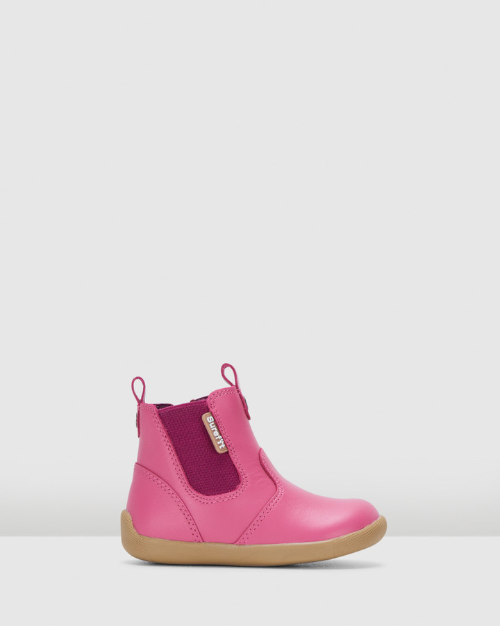Shoes and Sox Mani Ii Boot G Pink