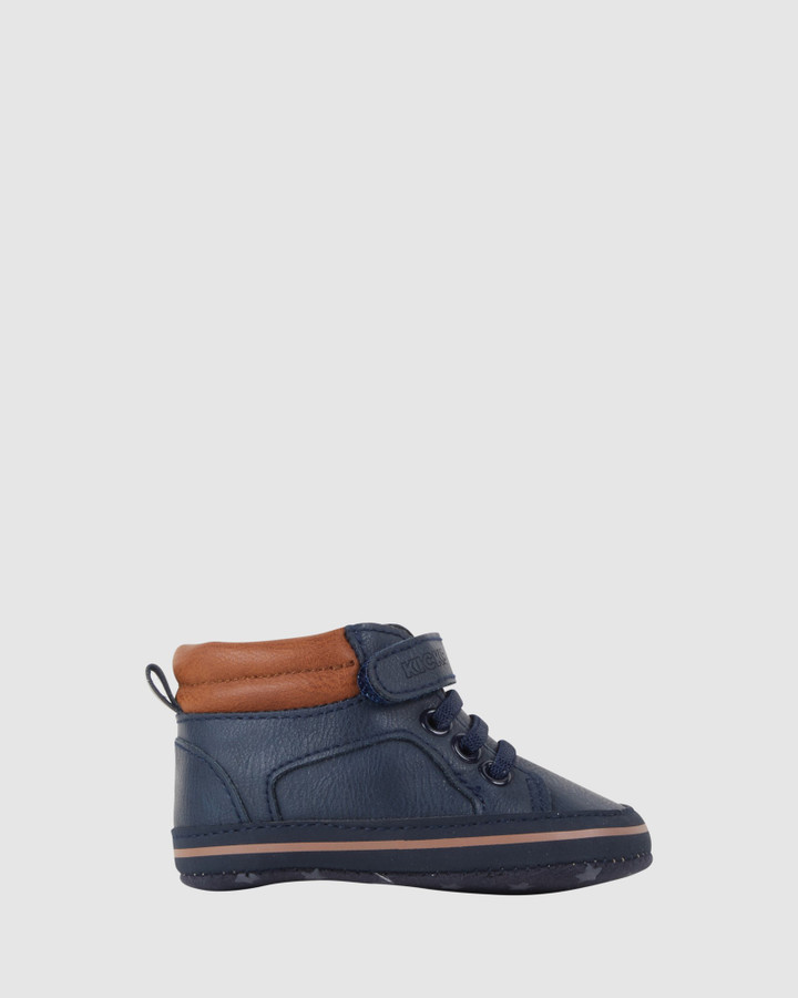Shoes and Sox Kellan Hi Top Navy