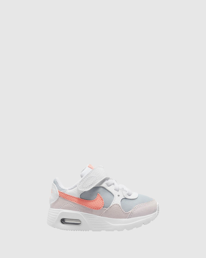 Shoes and Sox Air Max Sc Inf G White/Crimson Bliss