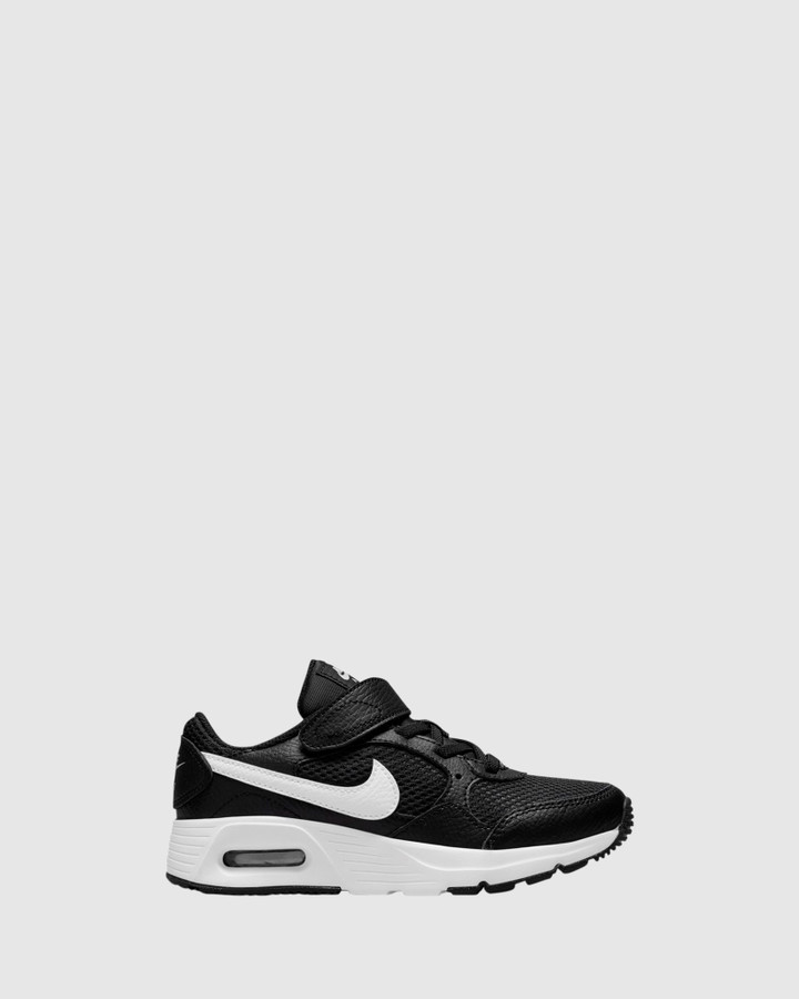 Shoes and Sox Air Max Sc Ps B Black/White