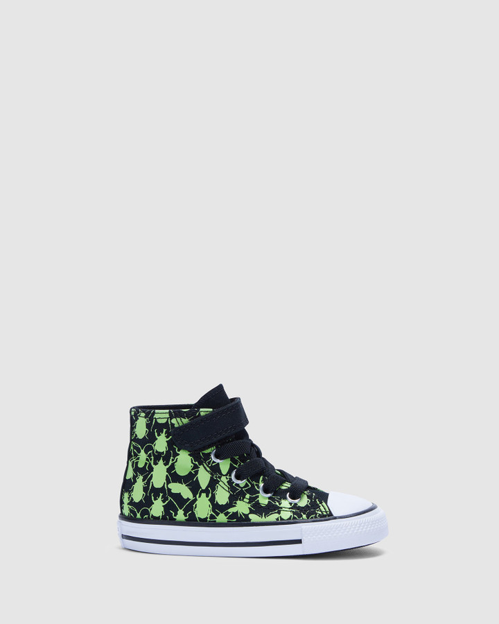 Shoes and Sox Ct As 1 V Glow Bug Hi Inf B Black/Green