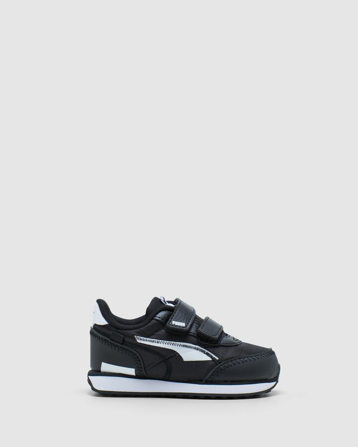 Shoes and Sox Future Rider Twofold Sf Inf B Black/White