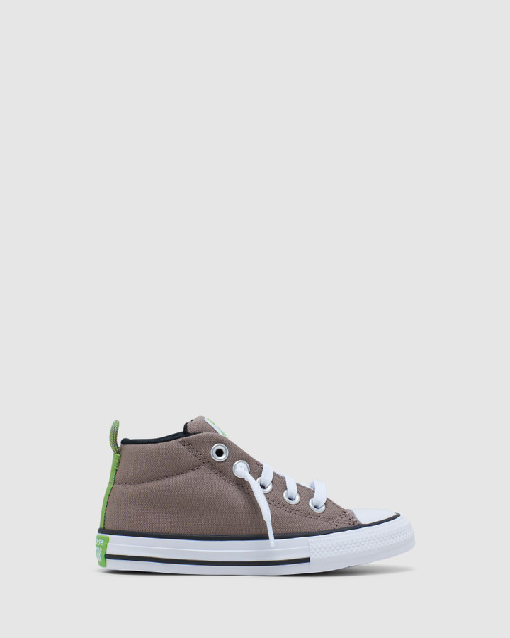 Shoes and Sox Ct As Street Utility Yth B Taupe