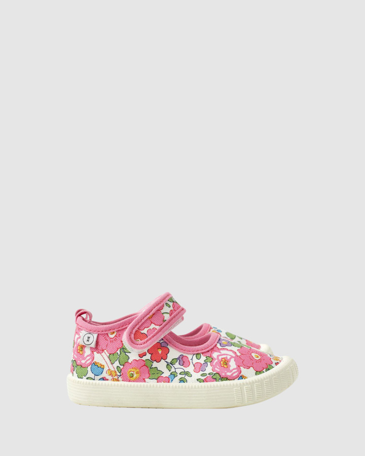 Shoes and Sox Liberty Classic Mj Betsy Ann Fuchsia