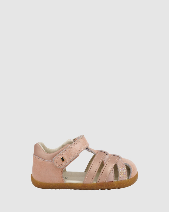 Shoes and Sox Step Up Cross Jump G Dusk Pearl/Rose Gold
