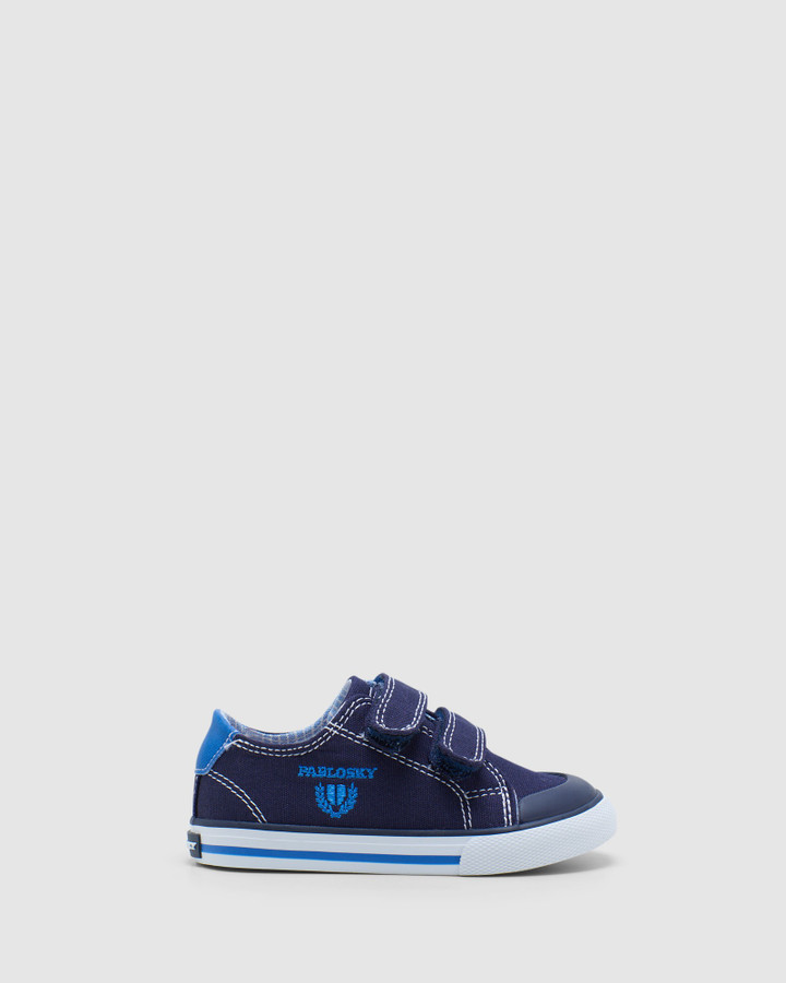 Shoes and Sox Logo Canvas 9609 Inf Navy/Blue