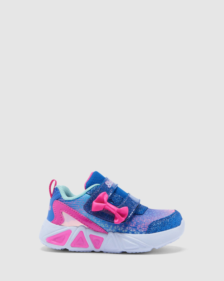 Shoes and Sox Tri Brights Inf Blue/Pink