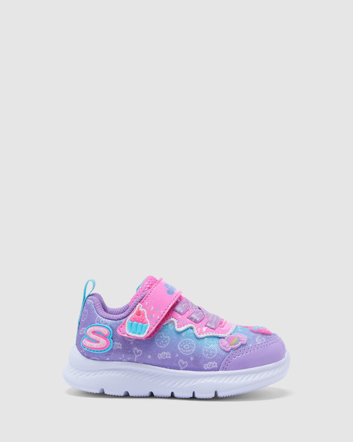 Shoes and Sox Comfy Flex Inf Lilac/Pink