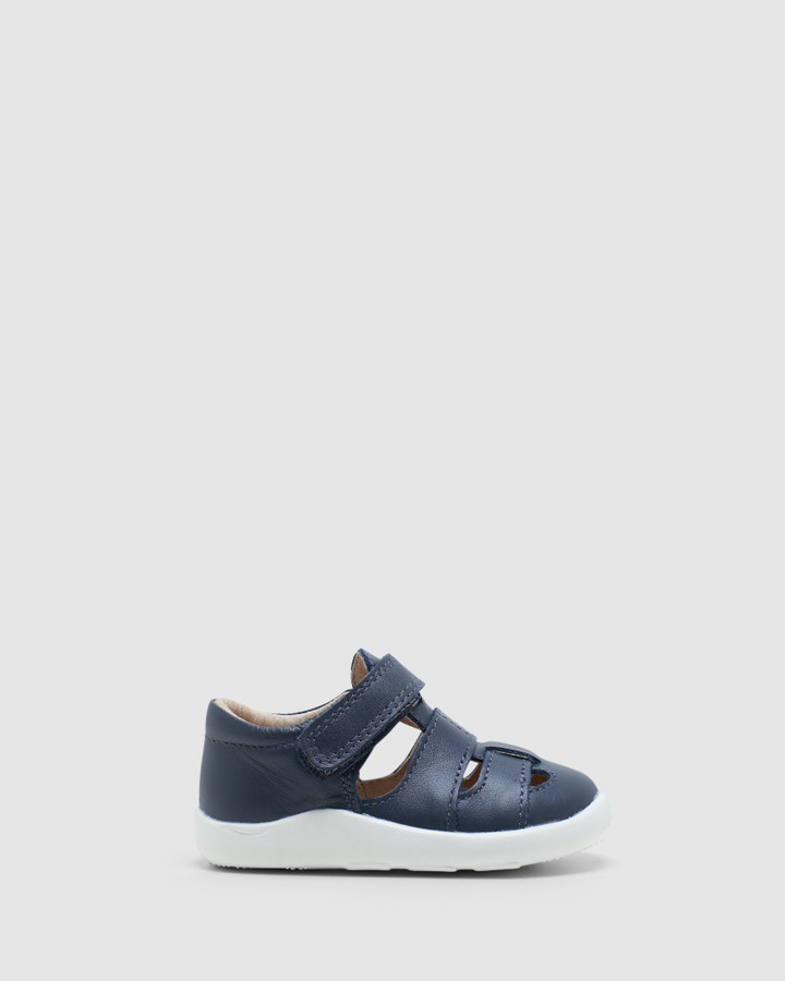Shoes and Sox Free Ground B Navy/White