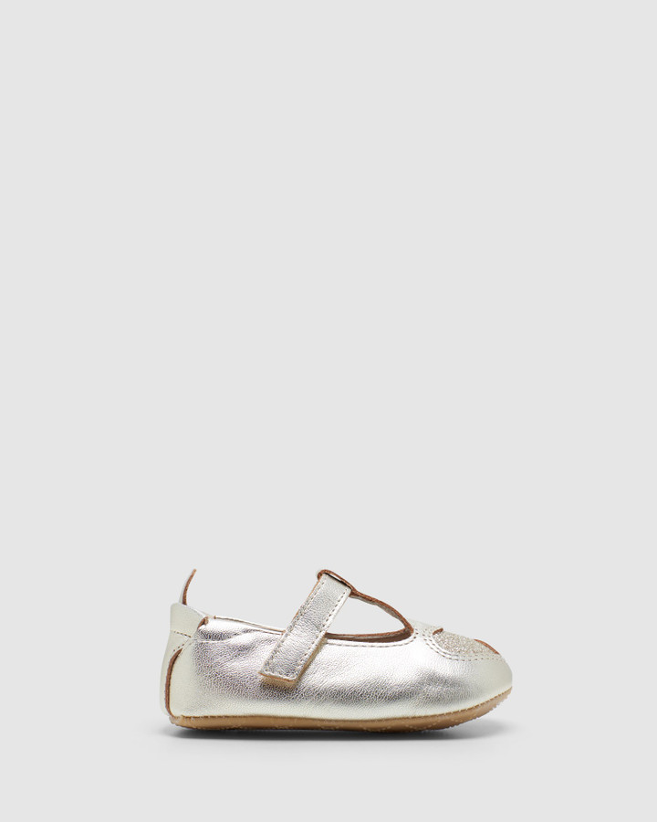 Shoes and Sox Ohme Heart G Gold/Glam Gold