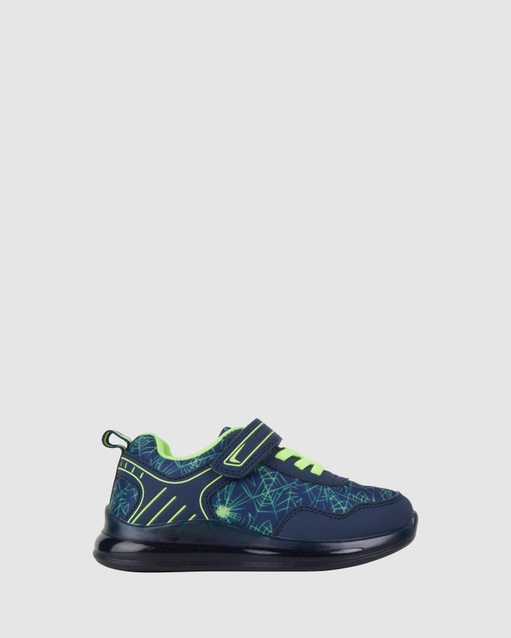 Shoes and Sox Keen Web B Navy/Lime